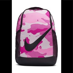 Nike Pink Camo Backpack